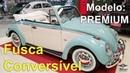 Lindo Fusca Conversível Modelo Premium Como funciona a transformação