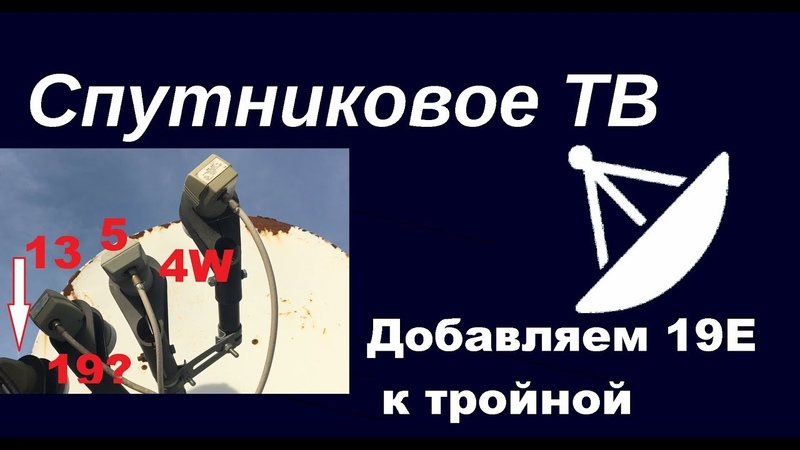 Русскоязычные каналы с Astra 19.2°E к тройной?