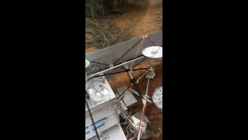 искусственный спутник Земли упал на землю