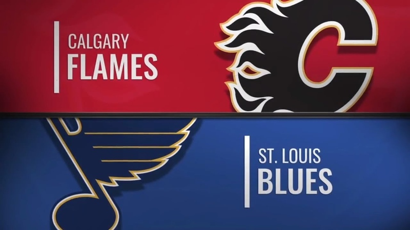 Calgary Flames vs St. Louis Blues | Dec.15, 2018 NHL | Game Highlights | Обзор матча