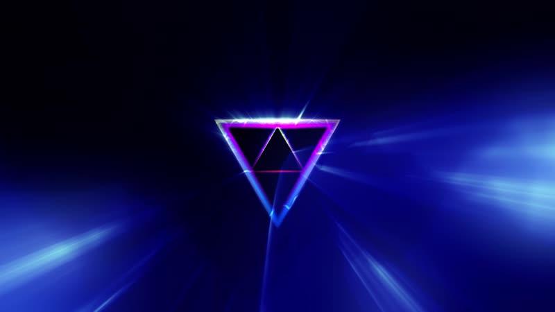 Футаж треугольник