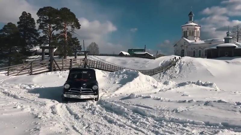 Super drift GAZ M20 Pobeda tuning swap Mitsubishi Lancer Evolution 4wd 4G63 turbo tuning 550 hp
