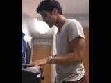 Darren Criss aka uncle Darren via Matthew Morrison Instagram