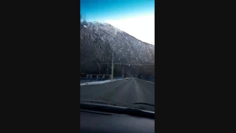 дорога на Эльбрус