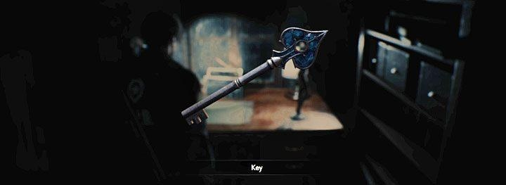 Resident Evil 2 Remake - где найти синий ключ