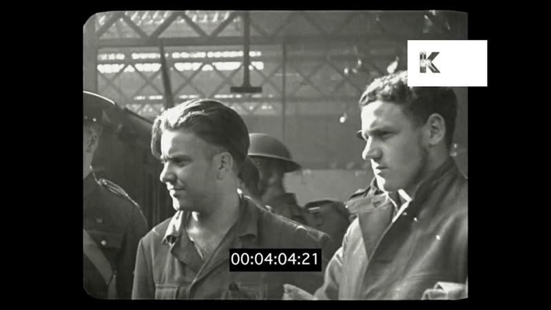 WWII German Prisoners of War in London 1941, HD