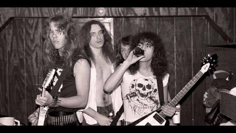 Metallica / концерт в чикагском клубе The Metro / 12. 08. 1983 / VHS / VHS Line