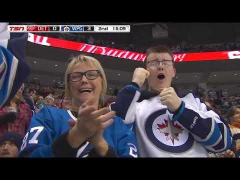 Виннипег Джетс - Детройт Ред Уингз Обзор матча НХЛ 12 января 2019