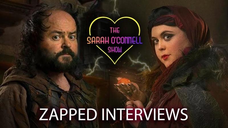Zapped Series 3 Interviews - Sharon Rooney Ken Collard!