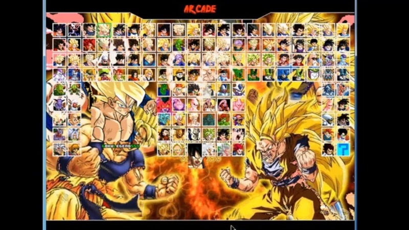 First game dragon ball z mugen edition 2018-new version-Download
