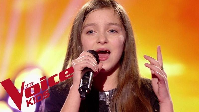 Amel Bent - Ne retiens pas tes larmes | Irma | The Voice Kids France 2018 | Demi-finale