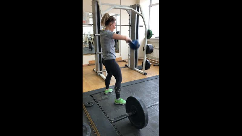 Свинги толчок 40 кг