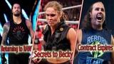 Roman Reigns Returning to Raw Ronda secret instructions to Becky Matt Hardy Contract