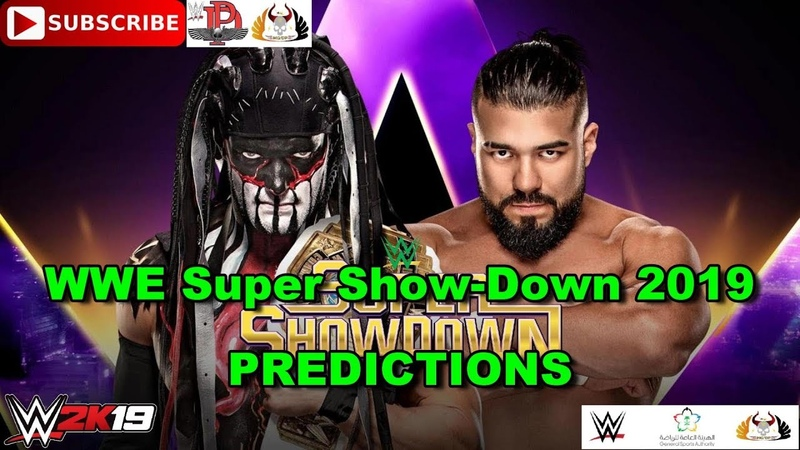 WWE Super Show Down 2019 Intercontinental Championship The Demon Finn Bálor vs Andrade Predictions
