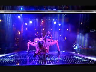 Трио Алина Полина Настя| Третий отчетный концерт студии pole dance