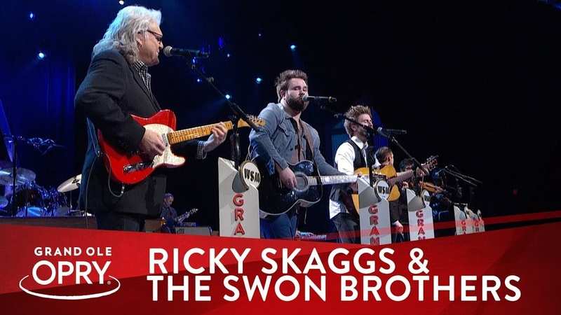 The Swon Brothers Ricky Skaggs - Crying My Heart Out Over You | Live at the Opry