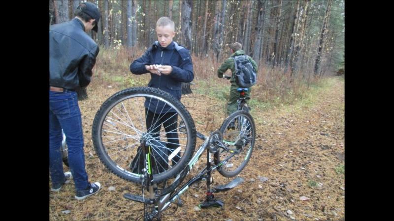 Осенний велопробег, 4 октября 2018, маршрут лесной 7км.г.о.Краснотурьинск