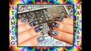 Голографический Стемпинг / Магическая Роза / Holochrome MAGIC Rose Stamping Nail Art.