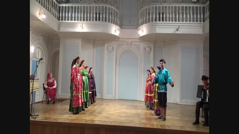 Кадриль, общая-выступление в Московской консерватории им.П.И.Чайковского