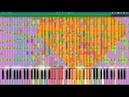 Пойдём в макдак BLACK MIDI COVER 18000 нот