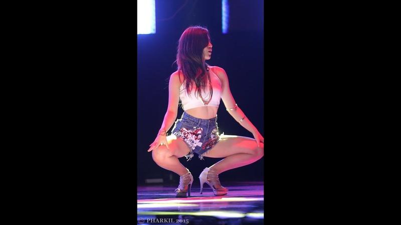 [직캠Fancam] 151005 로즈매스(Rosemass) (수정) 댄스공연 헬로비너스-위글위글 @ 한남대