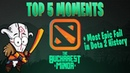 TOP 5 Moments - Bucharest Minor Most Epic Fail in Dota 2 History