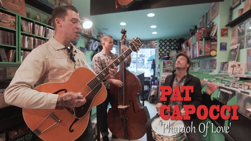 'Pharaoh Of Love' PAT CAPOCCI (Sounds That Swing/ No Hit Records) BOPFLIX sessions