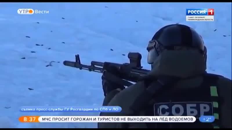Команда СОБР Гранит стала победителем Чемпионата по стрельбе среди спецподраздел