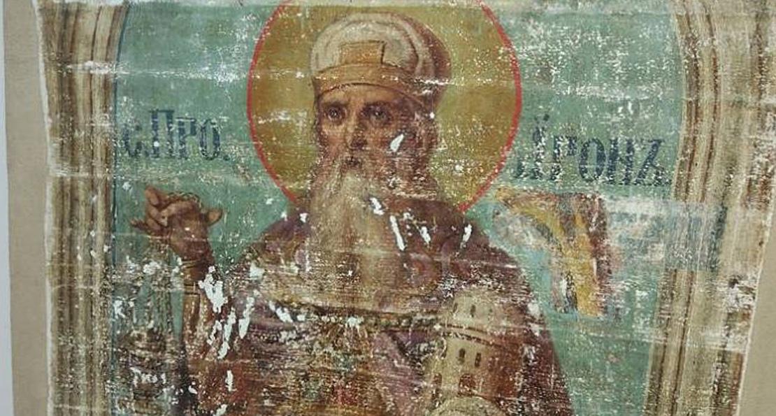 Поздние фрески