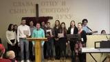 Служение пилигримов МолодёжьПГ в поместной церкви г. Великие Луки