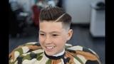 Barber Tutorial KIDS COMB OVER! transformation