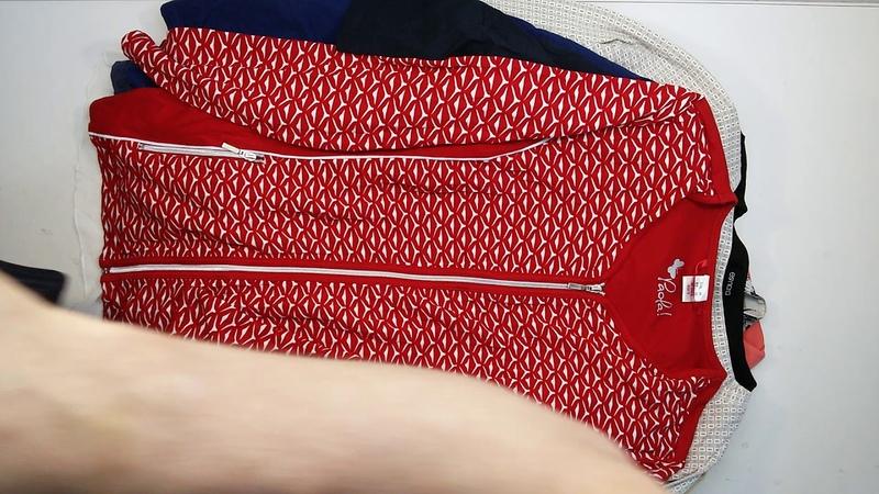 2862 Ladies XXL Long Sleeve Tops cream extra - женские XXL тонковки Cream Extra 1пак