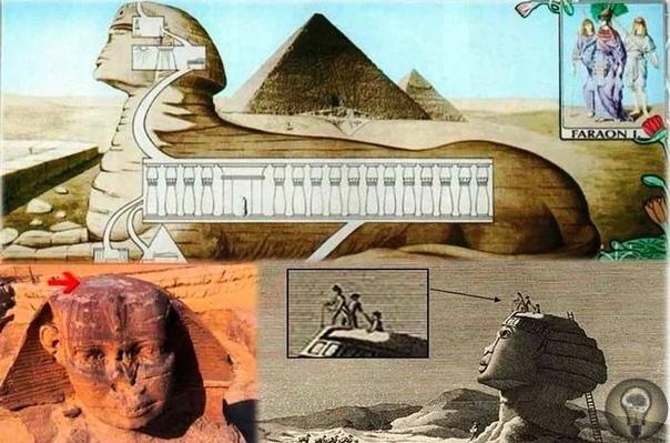 Сфинкс  не просто самая большая в мире скульптура. Теории историков и египтологов