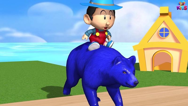 Los animales de granja y sus crías se transforman en animales salvajes en la fuente Episodio 18