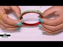 How to make Lumba Rakhi   Rakhi for Bhaiya Bhabhi   Raksha Bandhan   DIY   Art with Creativity