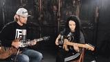 Fredguitarist учит играть на гитаре Дарию Ставрович (Слот, Нуки)