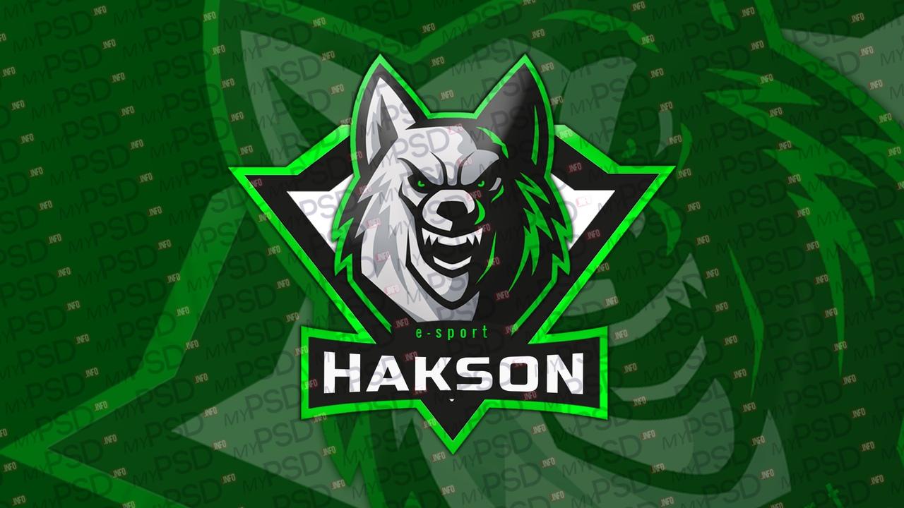 Логотип волка для клана PSD