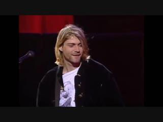 Nirvana - blew [mtv live and loud, 1993]