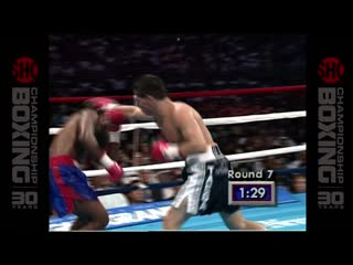 Pernell Whitaker - Julio Cesar Chavez 1080р