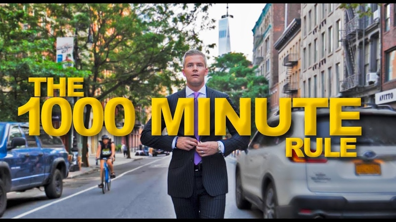 Hacking Time Management (The 1,000 Minute Rule) | Ryan Serhant Vlog 78