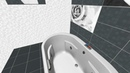 Керамическая плитка Unica (Global Tile) | Вариант раскладки | 3D-визуализация