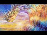 Colorful Ocean Wave Acrylic Painting LIVE Tutorial