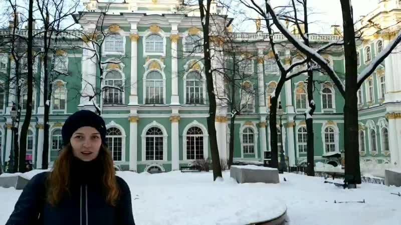 Внутри дворца с Настей 😇❤️🙏👏