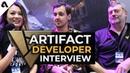 Artifact Devs Talk Game Design, No Ladder System Esports Plans ft. Skaff Elias Bruno Carlucci