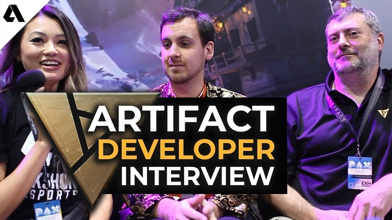 Artifact Devs Talk Game Design, No Ladder System Esports Plans ft. Skaff Elias Bruno Carlucci
