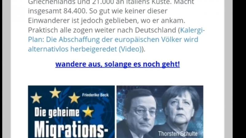 """Deutschland nimmt mehr """"Flüchtlinge"""" auf, als überhaupt am Mittelmeer ankommen"""