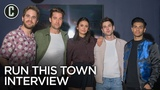 Run This Town Nina Dobrev, Ben Platt, Mena Massoud, Scott Speedman, Ricky Tollman Interview