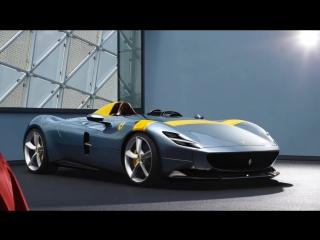 Ferrari Monza SP1 и SP2 (2019) Эксклюзивный спортивный автомобиль