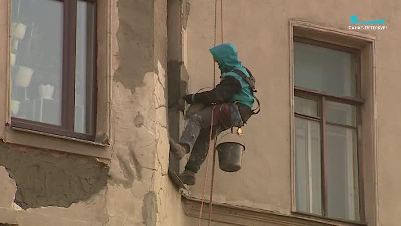 Лепнину дома в Петроградском районе восстановили с помощью монтажной пены