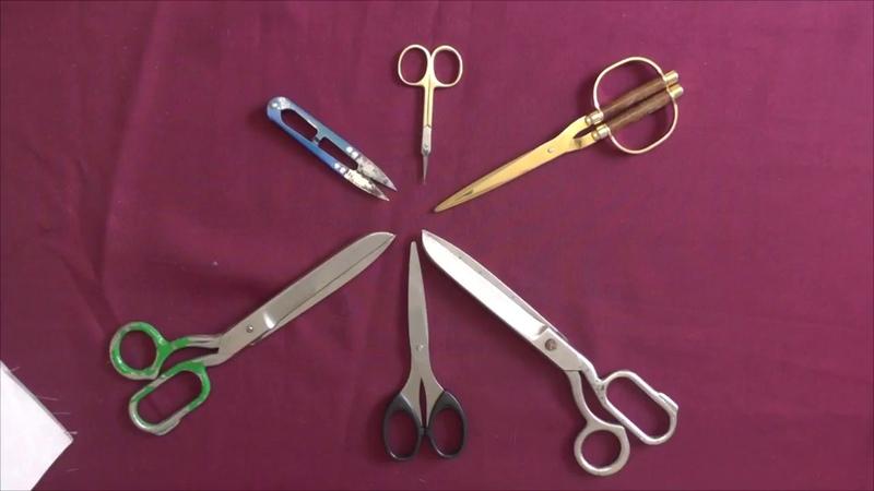Как точить ножницы и как не надо точить